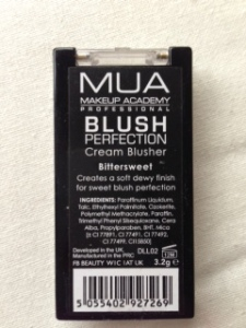 mua cream blusher bittersweet back