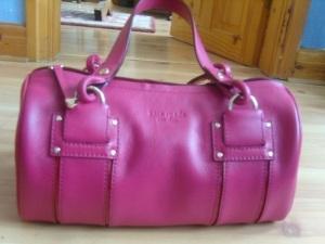 kate spade pink bowler bag
