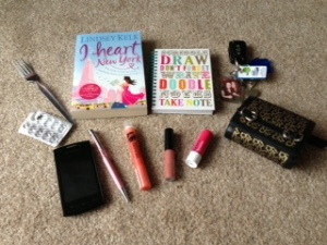 whats in your handbag 1